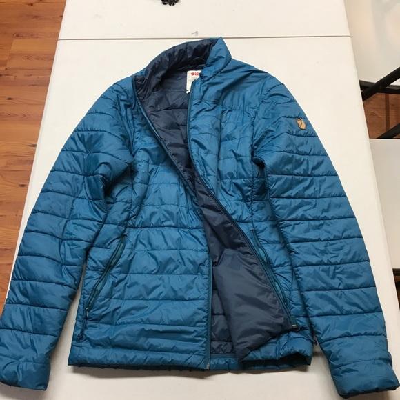 Fjallraven Keb Padded Blue Jacket Men